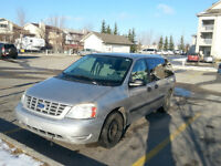 2006 FORD FREESTAR 7 Passenger Van, 1 OWNER, LESS THAN 100K