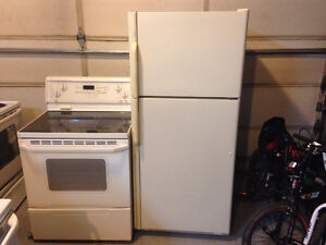 Maytag fridge AND Whirlpool ceramic top stove