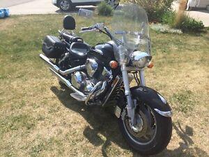 2002 VTX 1800 spring ready