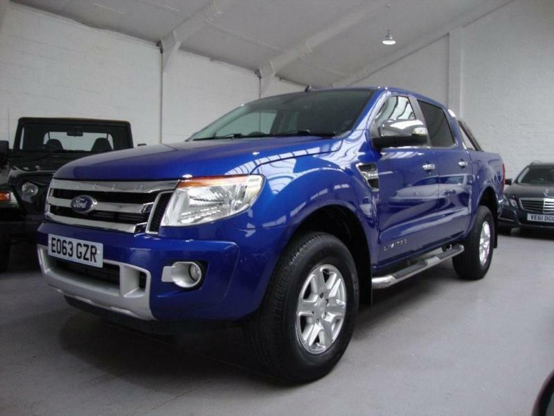2013 Ford Ranger 2.2 TDCi Limited Double Cab Pickup 4x4 4dr (EU5)