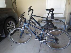 Trek street bike & bike carrier