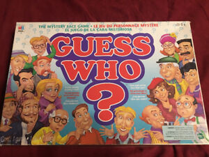 1996 Guess Who Board Game for sale.