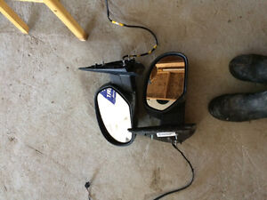 Set of chevy mirrors