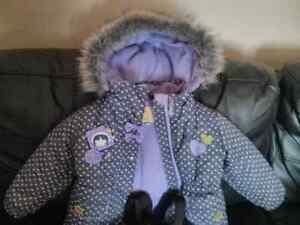 Manteau d'hiver 18 mois fille