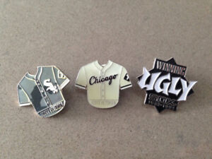 Mint Condition- Chicago White Sox Pins (Set of 3)