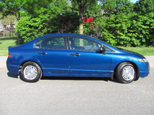HONDA CIVIC 2011 DX-G 118000KM/MANUAL/GREAT CONDITION!