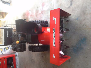 MURRAY 10HP 27 CUT SNOWBLOWER