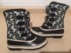 Kids Sorel Waterproof Winter Boots Size 7