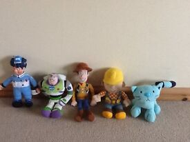 Bob the builder, Pilchard bus cat, Woody & Buzz from Toy Story and more