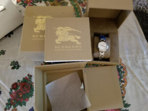 Women's Burberry Sapphire Crystal - Brand NEW