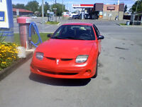 2002 Pontiac Sunfire SL Berline