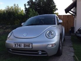 VW beetle 2001 - 12 month MOT