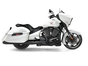 2016 Victory Cross Country Suede Pearl White