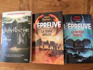 Trilogie le Labyrinthe