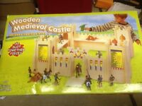 Giant children's castle play set.
