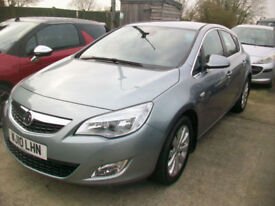 Vauxhall/Opel Astra 1.4i 16v Turbo ( 140ps ) 2010MY Elite full leather