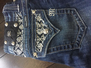 Brand New Miss Me Jeans with tags Size 27 Boot Cut