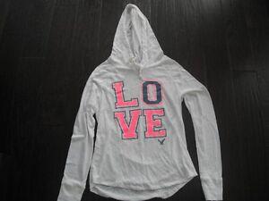 Ladies American Eagle Long Sleeve Hooded Top Size Medium London Ontario image 1