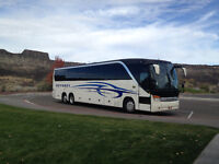 CHARTER BUS FOR SALE
