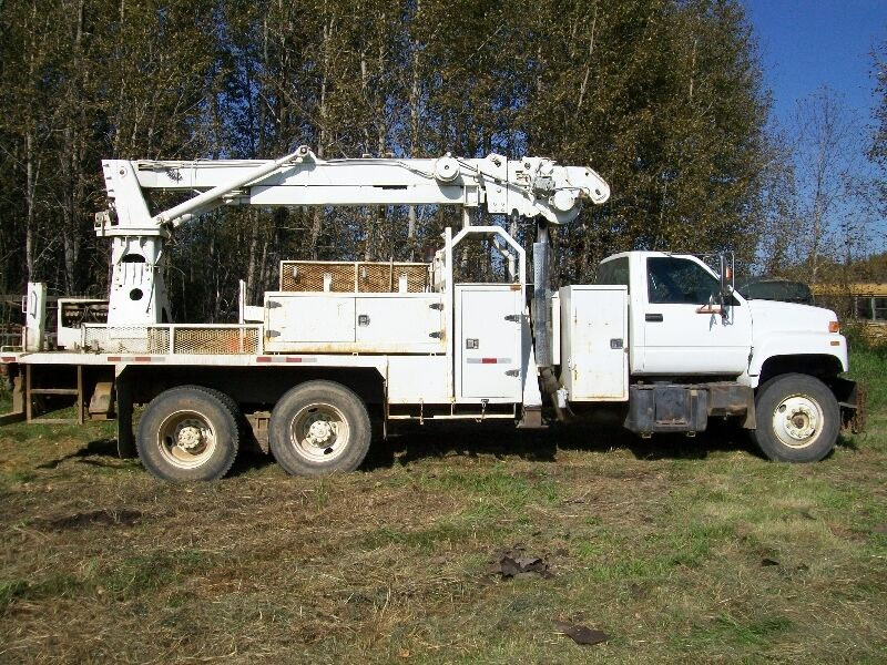 Kijiji Edmonton Heavy Trucks: GMC 7000 PickerTtruck