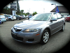 2008 Mazda Mazda6 GS, 4Cyl., AUTO, POWER GROUP & COLD AC.