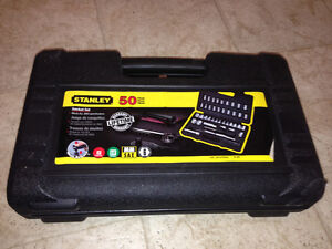 Stanley 50 Piece Metric/SAE Socket Set
