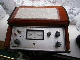 Satellite signal strength meter