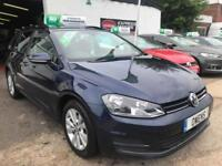 2015 (64) VOLKSWAGEN GOLF 1.6 SE TDI BLUEMOTION TECHNOLOGY DSG 5DR SEMI AUTOMATI