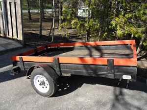 Tilting Box Trailer   (92L X54W )
