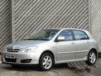 2006/56 TOYOTA COROLLA 1.4 VVT-i COLOUR COLLECTION - GREAT VALUE !!
