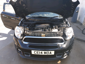 Mini paceman Cooper S Black with Chrome Pack