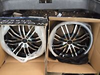 "17"" Wolfrace alloys"