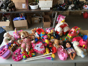 Random infant and toddler toys