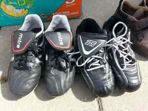 Soccer cleats size 2 and size 3 London Ontario image 1
