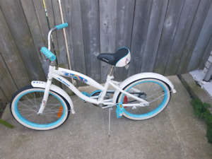 Blue Kids Bike with Helmet