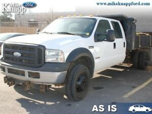 2007 Ford Super Duty F-550 DRW 0  AS IS