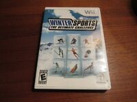 "Used Nintendo Wii ""Winter Sports: The Ultimate Challenge"" Game"