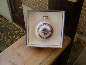 Toronto Blue Jays 1992 World Series vs Atlanta Glass Ornament