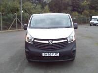 Vauxhall Vivaro LWB 1.6 CDTI 115ps 2.9t Van DIESEL MANUAL WHITE (2015)