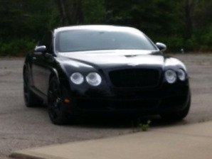 BLACK ON BLACK !!!  Bentley GT