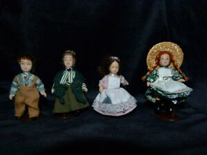 "Anne of Green Gables Mini 3"" Porcelain Doll Collection"