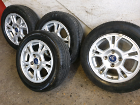 ford fiesta ford transit courier ford b max alloy wheels
