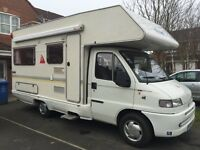 SOLD SOLD !!!Fiat ducato auto roller 5 berth 1.9 td power steering