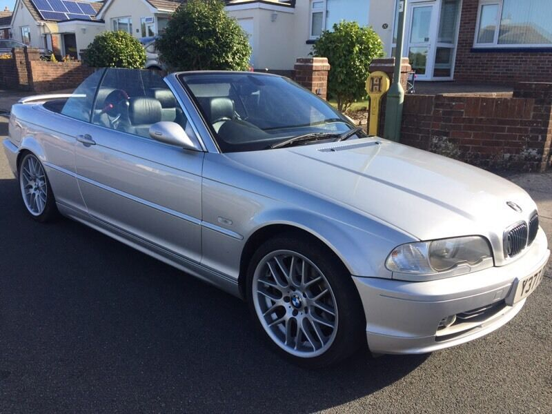 2001 BMW 330ci cabriolet this weekend £1700