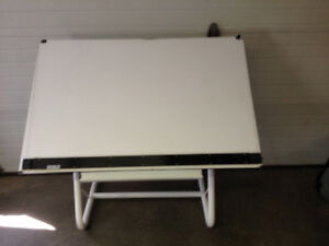 Craft and drafting table