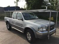 Roof rack aluminium full from back to front 295