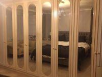 FREE Mirrored cupboard doors x 6