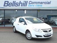 Vauxhall Corsavan 1.3CDTi, Manual, White, only 72996 Miles.
