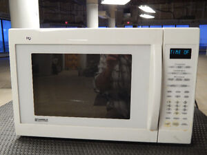 Used-Kenmore White Convection Microwave Good working condition