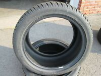 245/40R17 DUNLOP SP WINTER SPORT 3D LIKE NEW 2 PEICES